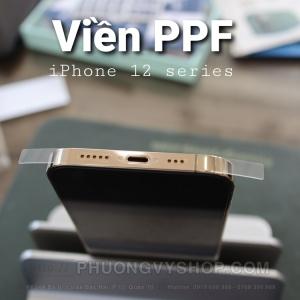 "Dán viền PPF - khuôn chuẩn, dễ dán (iPhone 12 mini, iPhone 12, iPhone 12 Pro 6.1"", iPhone 12 Promax)"